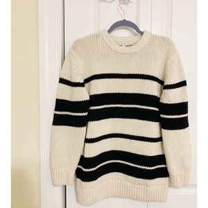 & Other Stories Striped Oversized Sweater